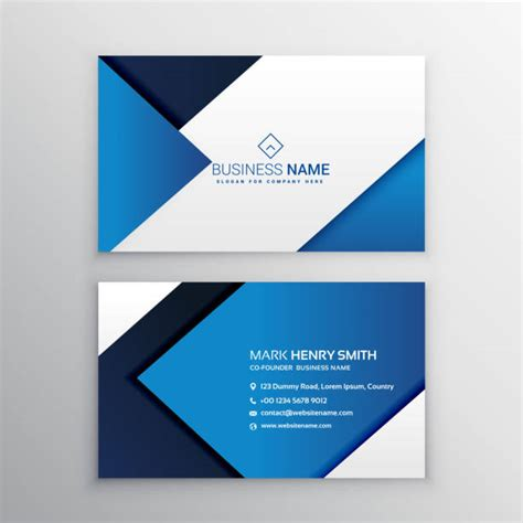 royalty  business card template clip art vector