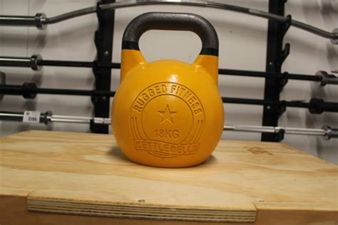 kettlebell competition 18kg fitness