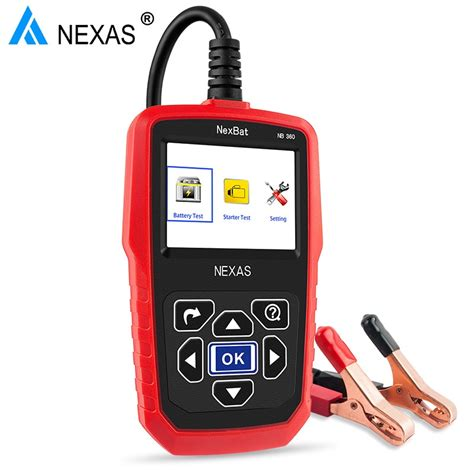 Still, you may have already set a budget for this device so you should stick to it. 12V & 24V Digital Car Battery Tester NexBat NB360 Battery ...