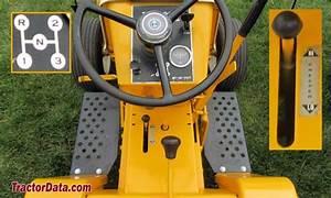 Tractordata Com Cub Cadet 122 Tractor Transmission Information