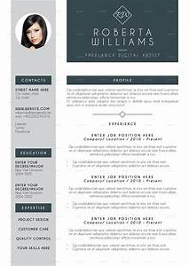 web design resume professional resume cv indesign template by