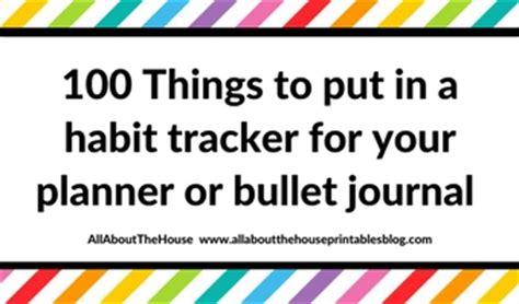 put   habit tracker   planner