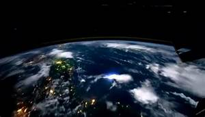 Planet Earth at night from outer space   PopScreen