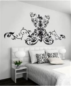 Tete de lit pour chambre d39ado les stickers pour for Stickers chambre enfant avec housse de couette motif baroque