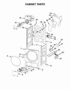Whirlpool Model Whd5090gw0 Residential Dryer Genuine Parts