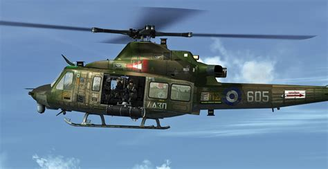 Hellenic Air Force Bell Uh 1y Venom For Fsx