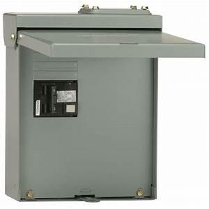 Ge 60 Amp Gfi Spa Panel-ug412rmw260p