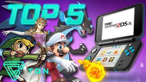 ¡diversión nintendo a raudales para niños grandes y pequeños! Top 5 Los Mejores Juegos del Nintendo 3DS - YouTube