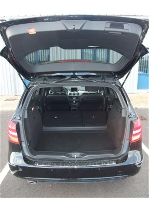 volume coffre mercedes classe b 28 images essai mercedes classe s cabriolet 2016 le plus