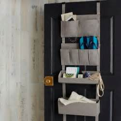 bamboo over the door organizer west elm