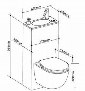 Dimension Wc Suspendu : pack wc trio 2 siamp wc suspendu avec petit lave mains ~ Premium-room.com Idées de Décoration