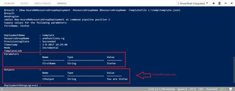 azure resource manager template testing azure resource manager template functions stefan s weblog manage your it