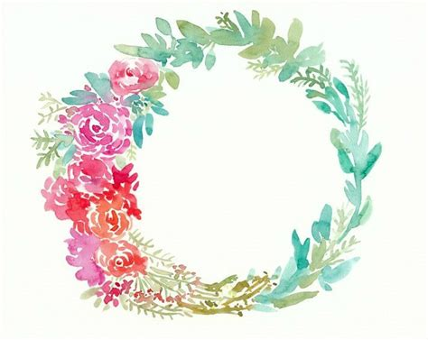watercolor wreath painting tips tricks