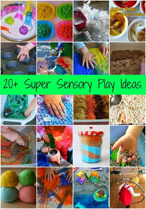 december up childhood 101 guest posts types 690 | Sensory Collage