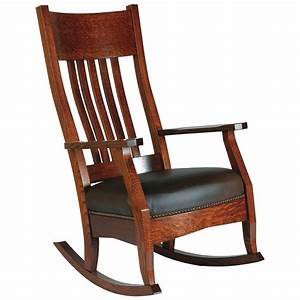 Mission, Rocking, Chair