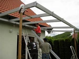 Terrassenüberdachung Alu Mit Montage : alu terrassenbedachungen carports ~ Articles-book.com Haus und Dekorationen