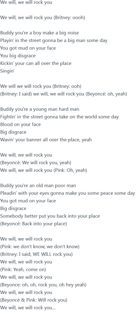 britney spears   rock  ft beyonce pink