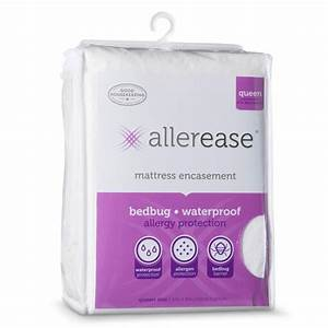 amazoncom allerease bed bug allergy protection zippered With allerease bed bug mattress protector reviews