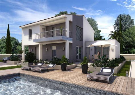cuisine maison moderne bouches du rh 195 180 ne drome gard vaucluse maison moderne plan maison moderne