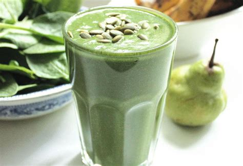 Spinach, Avocado & Moringa Protein Smoothie