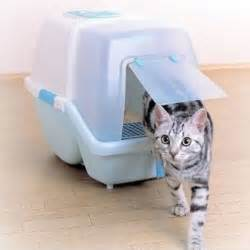 cat potty anti bacterial cat litter box with scoop w44 x h42cm on
