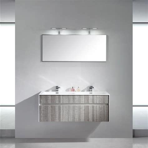 lusso stone encore double designer wall mounted bathroom vanity unit  vanity units