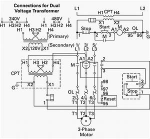 Single Phase Transformer Wiring Diagram