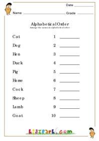 kids worksheets ordering alphabets worksheets  kids