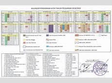 Kalender Pendidikan KALDIK Provinsi Aceh Tahun 20182019