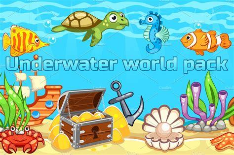 Underwater Clipart Underwater World Clipart Clipground