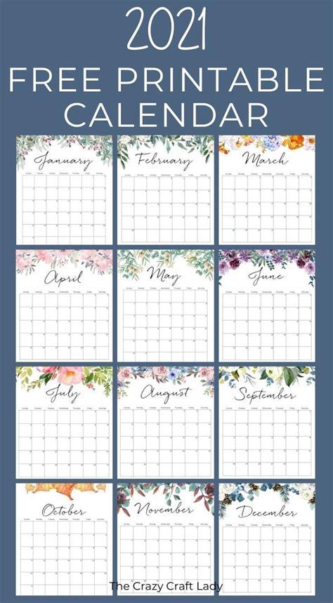 View Beautiful Calendar 2021 Printable  Images