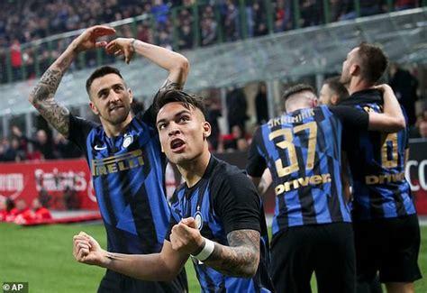 AC Milan 2-3 Inter Milan: Martinez scores decisive penalty ...