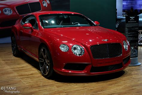 red bentley red bentley continental gt v8 so luxurious j tang