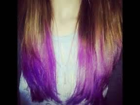 Purple Kool-Aid Hair Dye