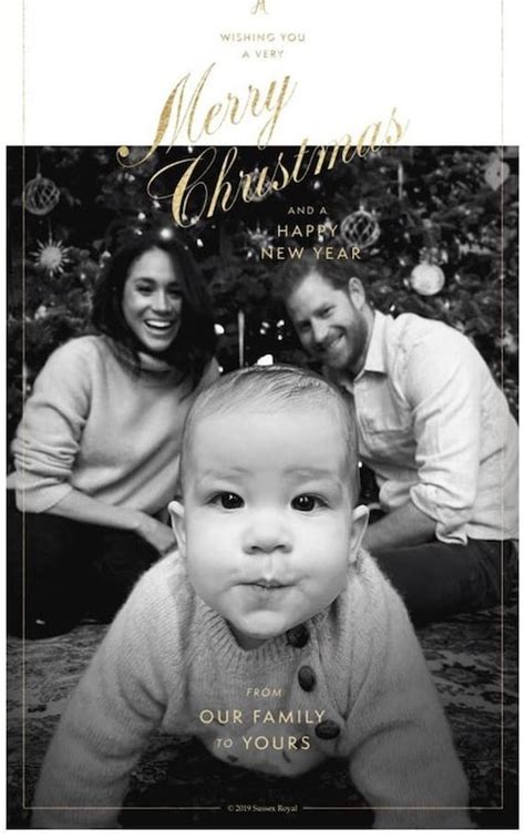 < 100 видео и каналов. The Duke & Duchess of Sussex's 2019 Christmas card with their baby son, Archie Harrison ...