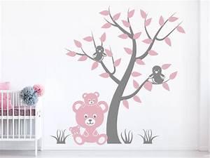 Motive Für Babyzimmer : wandtattoo teddyb renfamilie mit baum wandtattoo de ~ Michelbontemps.com Haus und Dekorationen