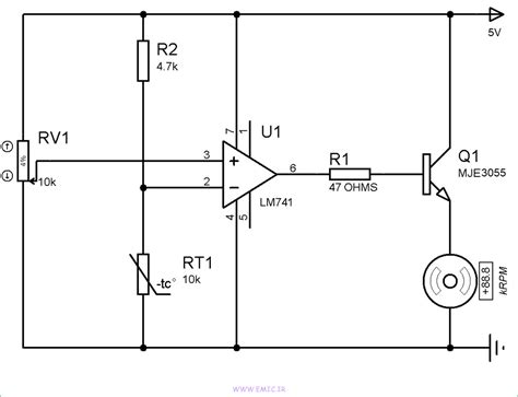 Temperature Switch Fan Control Amp Mosfet