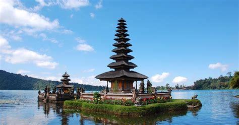 bedugul tourism object  bali indonesia