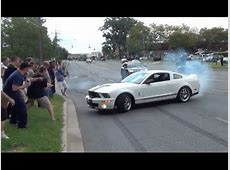 Shelby Mustang drift fail YouTube