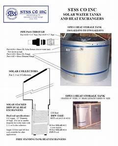 Water Storage Tank  Piping Diagram For Hot Water Storage Tank
