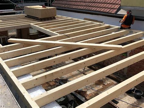 Holzbalkendecke Garage by Die Zimmerei Ihr Partner In Sachen Holzbau Neubau Eines