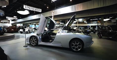 The bugatti marque was first revived in 1991 when entrepreneur romano artioli bought the name and produced the eb110. Dive Under the Hood of the 20 MPG, 700 HP 1994 Bugatti EB ...