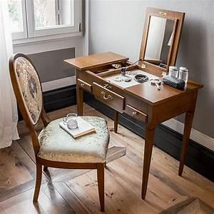 Coiffeuse Avec Tiroir : lili 1495 meuble coiffeuse classique tonin casa en bois avec tiroirs et miroir en diff rentes ~ Teatrodelosmanantiales.com Idées de Décoration