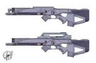 Laser Guns Military Assault Rifle