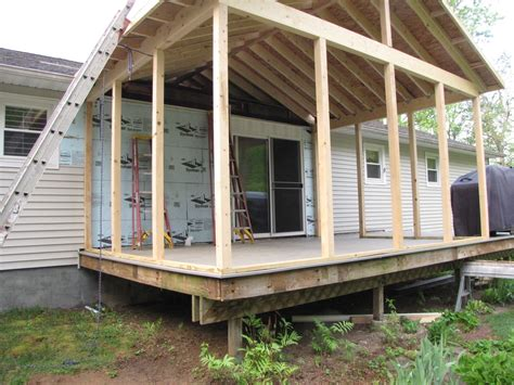 how to screen in a porch deck to screened porch