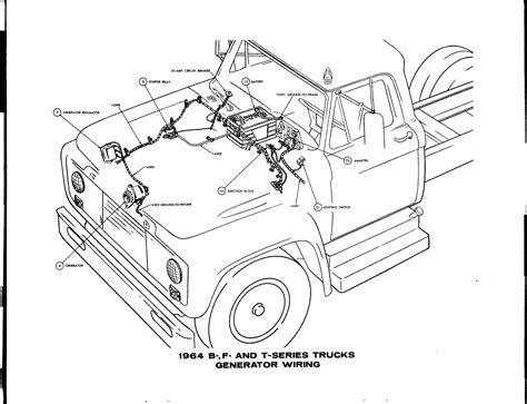 Ford Truck Series Generator Wiring Diagram