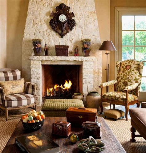 Country Living Room Ideas With Fireplace by Stylish Notes Of Elegance Using Fireplaces Founterior