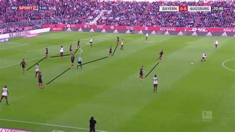 Allianz arena, munich, bavaria, germany disclaimer: Bundesliga 19/20: Bayern Munich vs FC Augsburg - tactical analysis