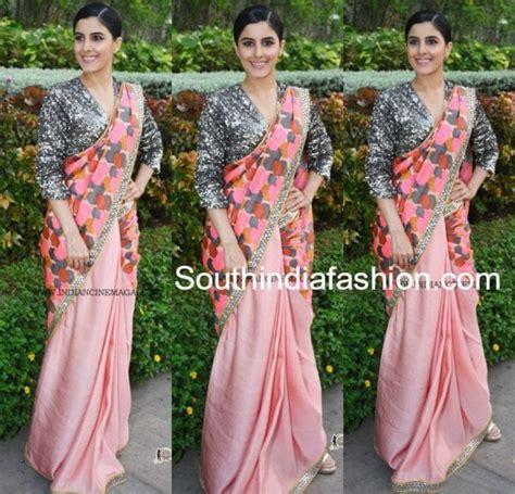 isha talwar      saree south india fashion