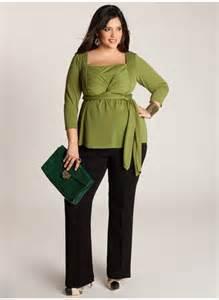 Plus Size Green Tunic